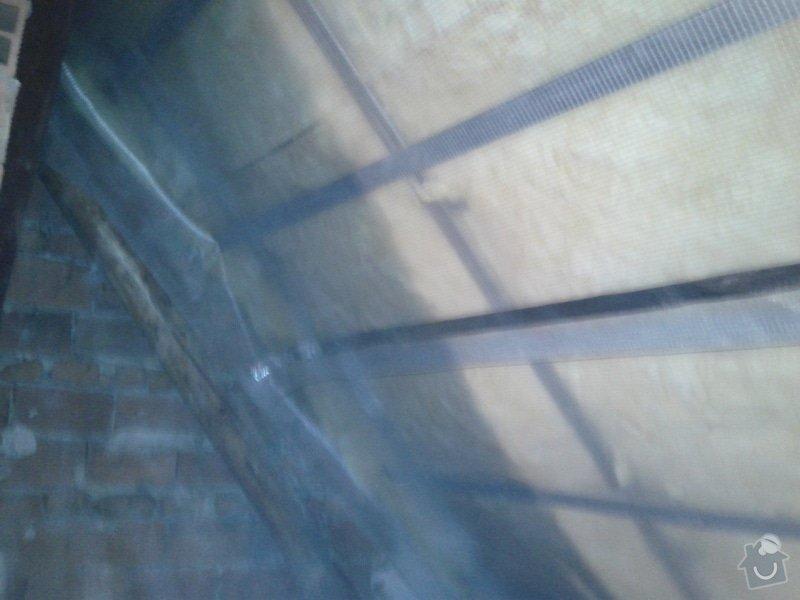 Zateplení šikmé střechy : 20141201_141353