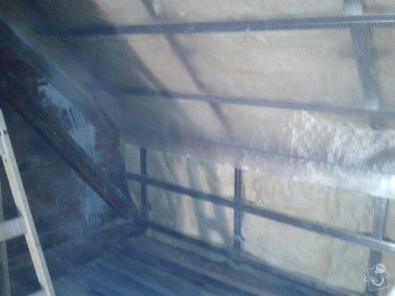Zateplení šikmé střechy : 20141201_141400