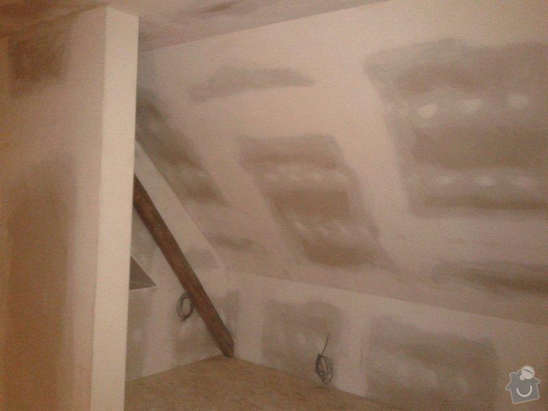 Zateplení šikmé střechy : 20141215_171821