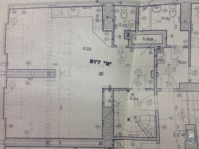 Nalezení komínového průduchu pro digestoř: Pudorys_dole