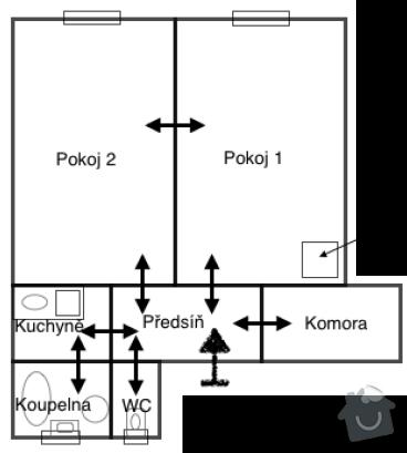 Instalace rekuperační jednotky: byt