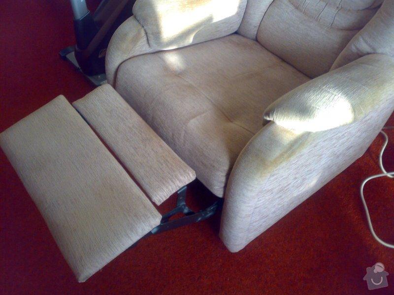 Oprava nábytku (relaxačního křesla): Oprava_mechanismu_kresla.Vsechna_remesla