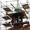Oplechovani vezicky kostela cca 20 m2 rekonstrukce veze