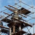 Oplechovani vezicky kostela cca 20 m2 oprava veze