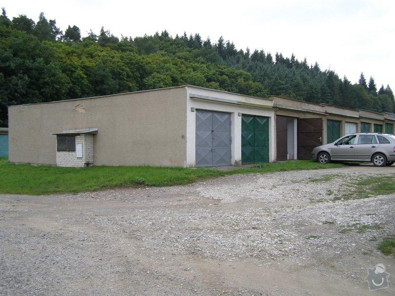 Připojení garáže na elektrickou síť: P9110041