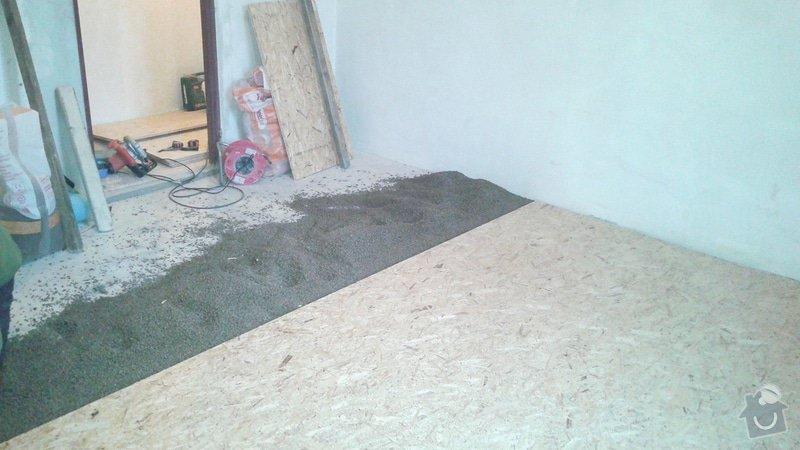 Vyrovnání podlahy a položení OSB: 2014-12-16_15.16.03