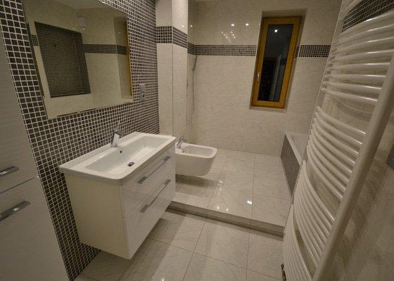Rekonstrukce dvou koupelen v rodinném domku