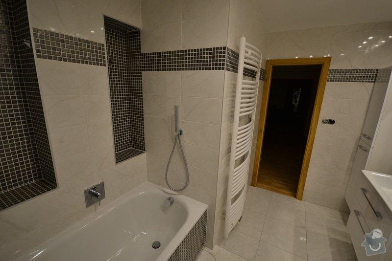 Rekonstrukce dvou koupelen v rodinném domku: Popelka_1._9_