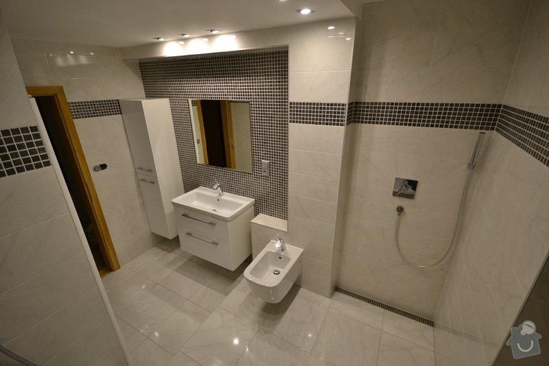 Rekonstrukce dvou koupelen v rodinném domku: Popelka_1._12_