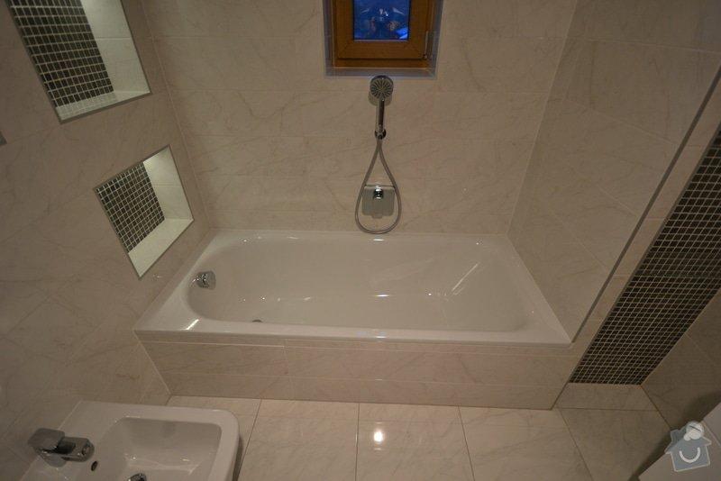 Rekonstrukce dvou koupelen v rodinném domku: Popelka_2._13_