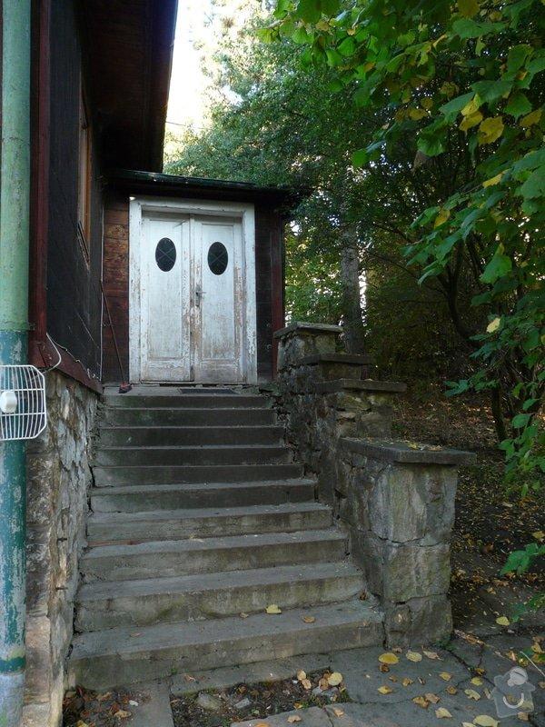 Dodávka a montáž vchodových dveří vč.zárubně-RD Všeradice: P1210407