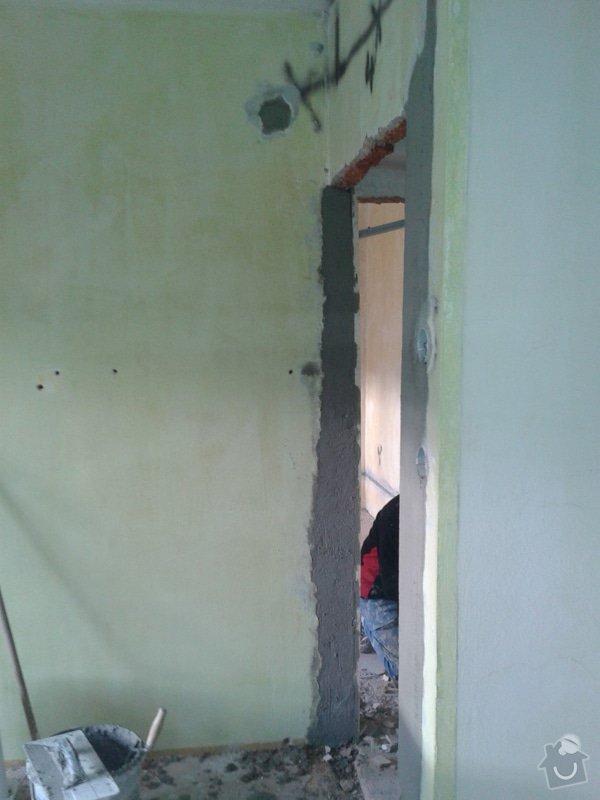 Kompletní nové omítky ,  2 pokoje: 20141208_141735