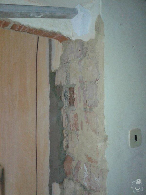 Kompletní nové omítky ,  2 pokoje: 20141208_141757