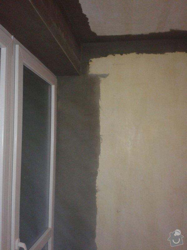 Kompletní nové omítky ,  2 pokoje: 20141209_161825