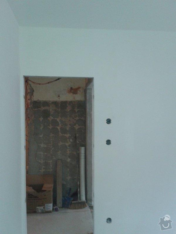 Kompletní nové omítky ,  2 pokoje: 20141219_103844