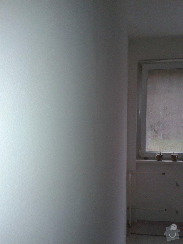 Kompletní nové omítky ,  2 pokoje: 20141219_103854