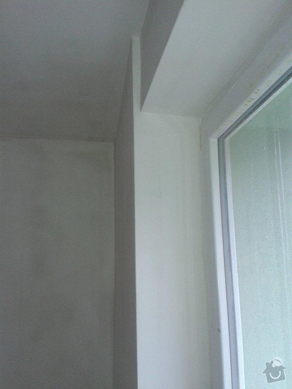 Kompletní nové omítky ,  2 pokoje: 20141219_103948