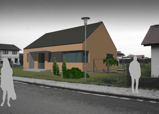 Architektonická studie novostavby rodinného domu