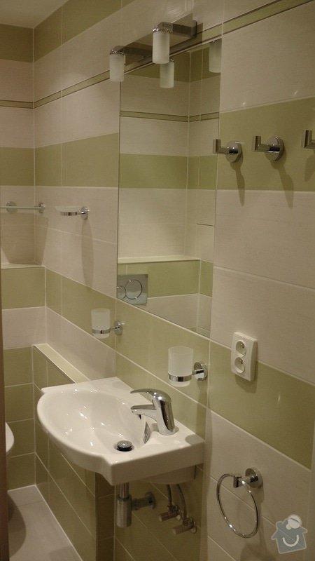 Kompletní rekonstrukce koupelny: 210-03