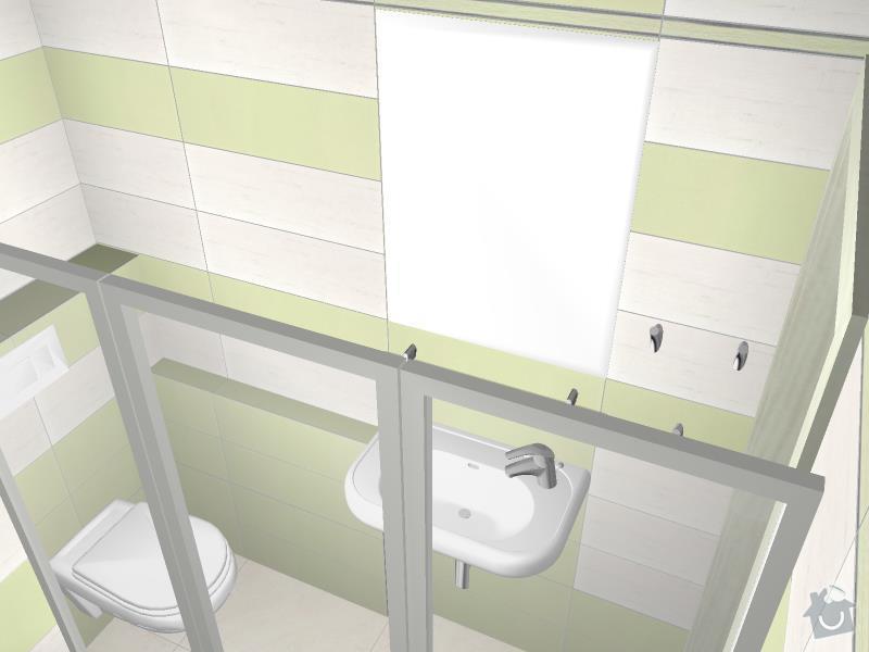 Kompletní rekonstrukce koupelny: 3D-03