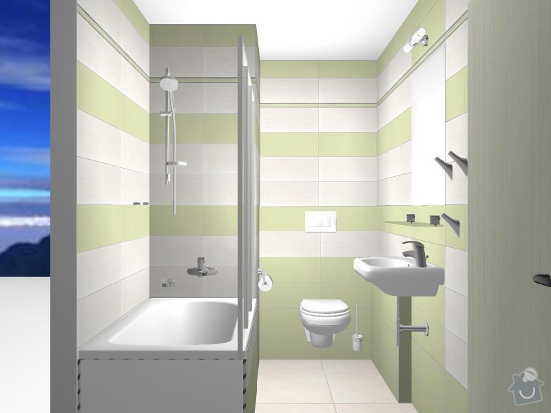Kompletní rekonstrukce koupelny: 3D-04
