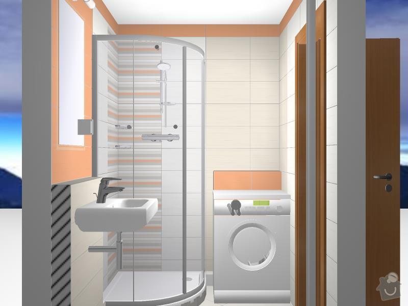 Kompletní rekonstrukce bytové jednotky 2+1: Koupelna_-_Flegl06