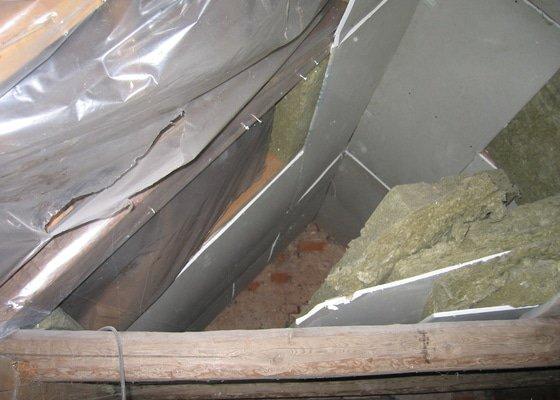 Sádrokartony,střešní okna,izolace