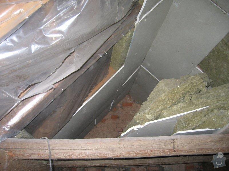 Sádrokartony,střešní okna,izolace: IMG_7579