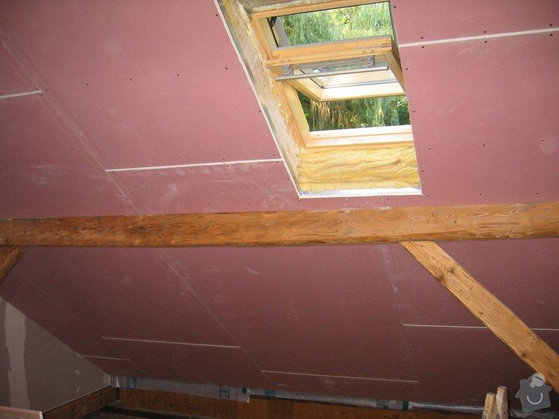 Sádrokartony,střešní okna,izolace: IMG_7552