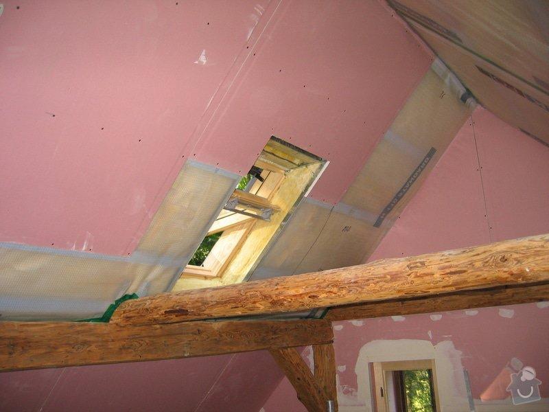 Sádrokartony,střešní okna,izolace: IMG_7570