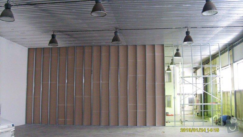 Stavba sádrokartonové příčky: S6301981