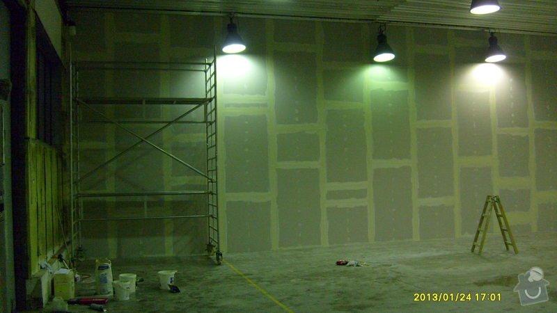 Stavba sádrokartonové příčky: S6301987