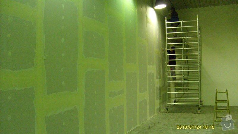 Stavba sádrokartonové příčky: S6301988