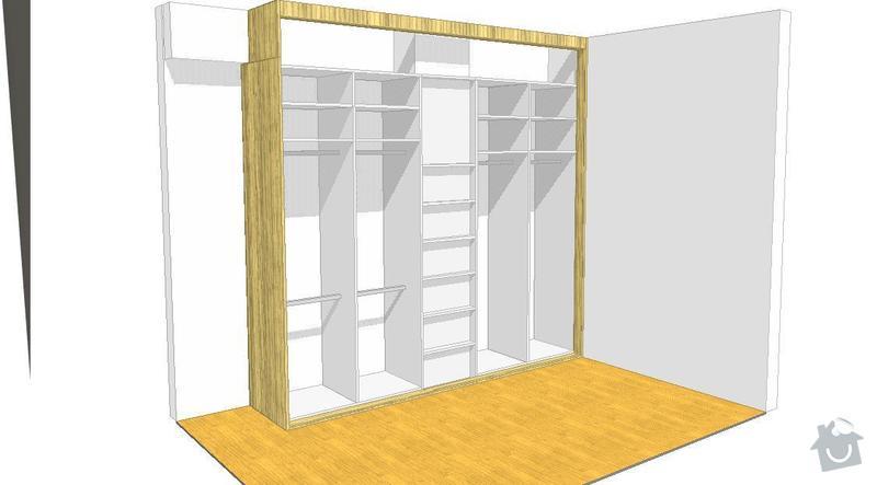 Vestavena skrin, postel, botnik: Janebova_skrin_2