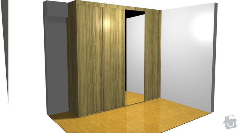 Vestavena skrin, postel, botnik: Janebova_skrin