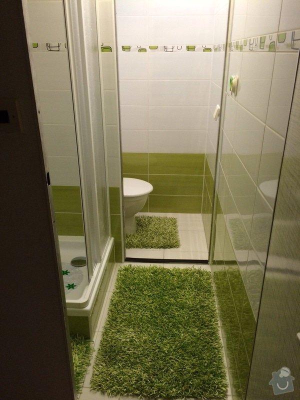 Renovace malé koupelny a WC v paneláku: koup1