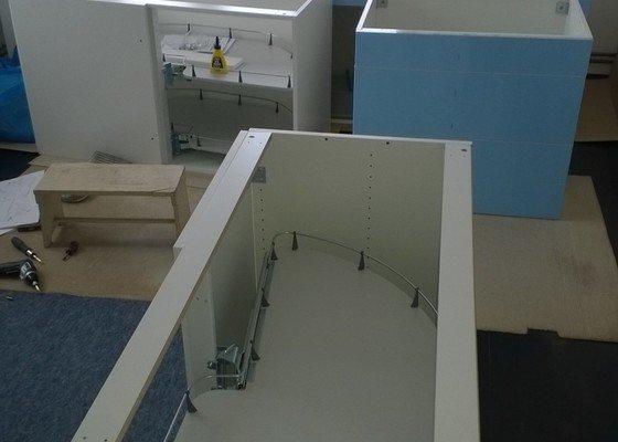 Montáž kuchyňské linky IKEA