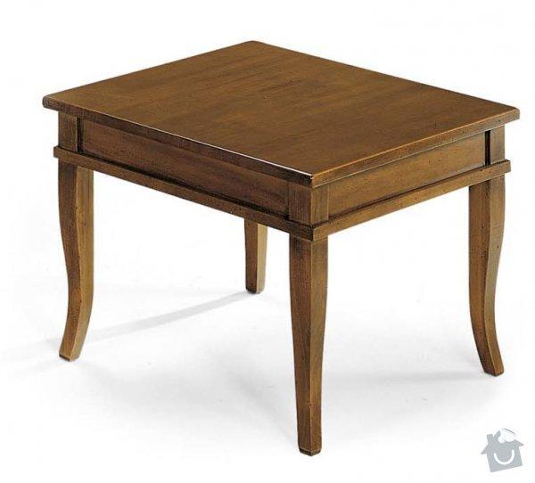 Výroba konferenčního stolku: stolek