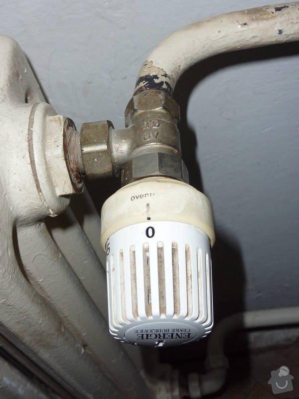 Výměna termohlavice u topení: termohlavice