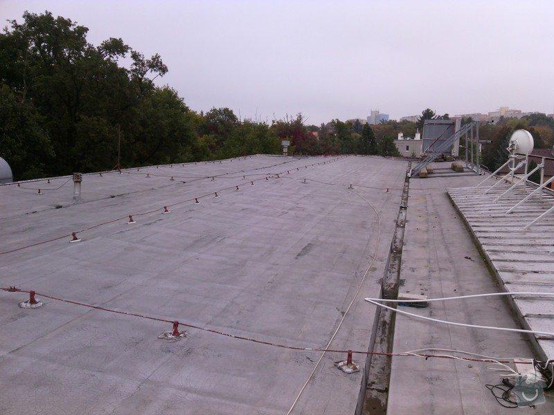 Oprava ploché střechy 495m2 - nová hydroizolace: 2014-10-10_09.48.53