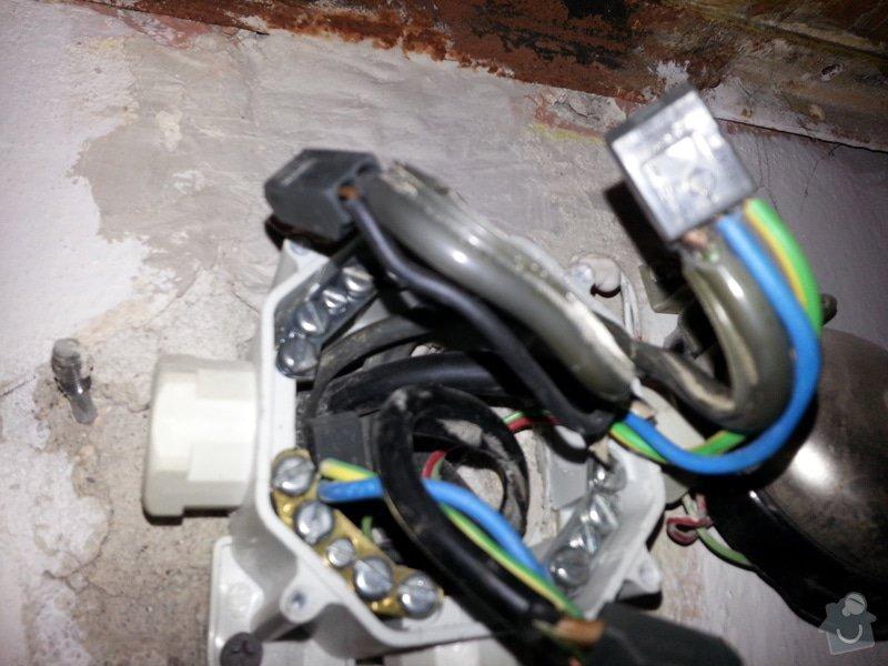 Vymena rozvodne krabicky elektriky + prepojeni dratu: Krabice