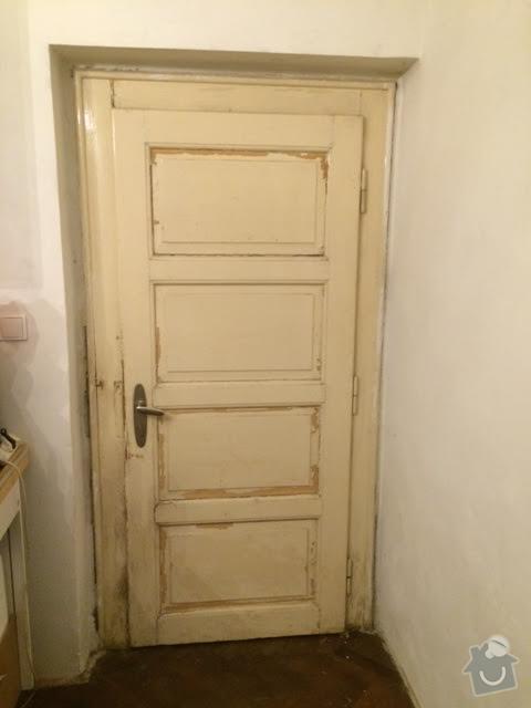 Renovace dveří: dvere2