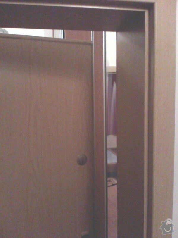 Oprava dveří - fixace rámu: IMG0015A