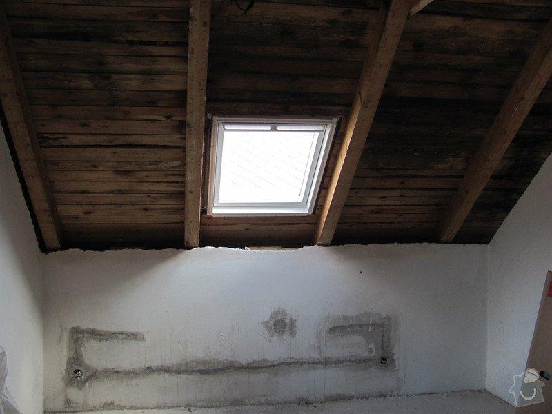 Montáž střešních oken, sádrokartony: IMG_7483