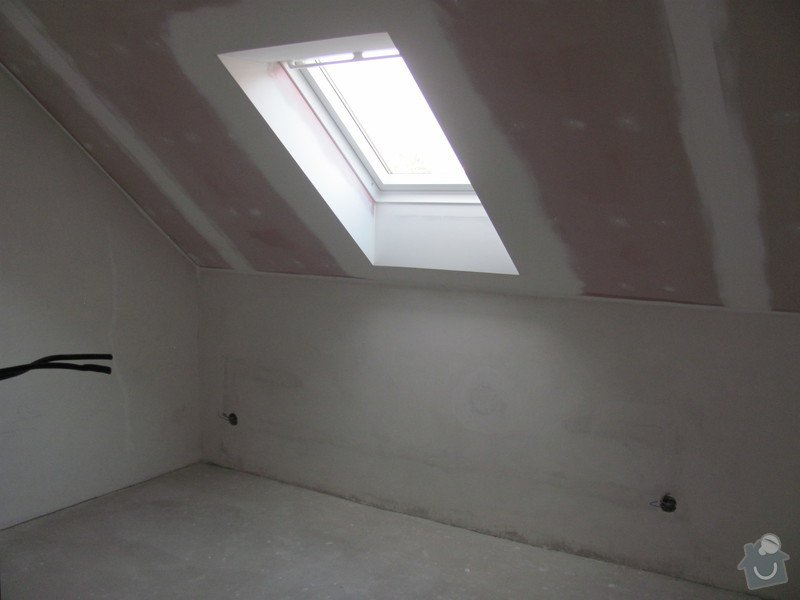 Montáž střešních oken, sádrokartony: IMG_7559