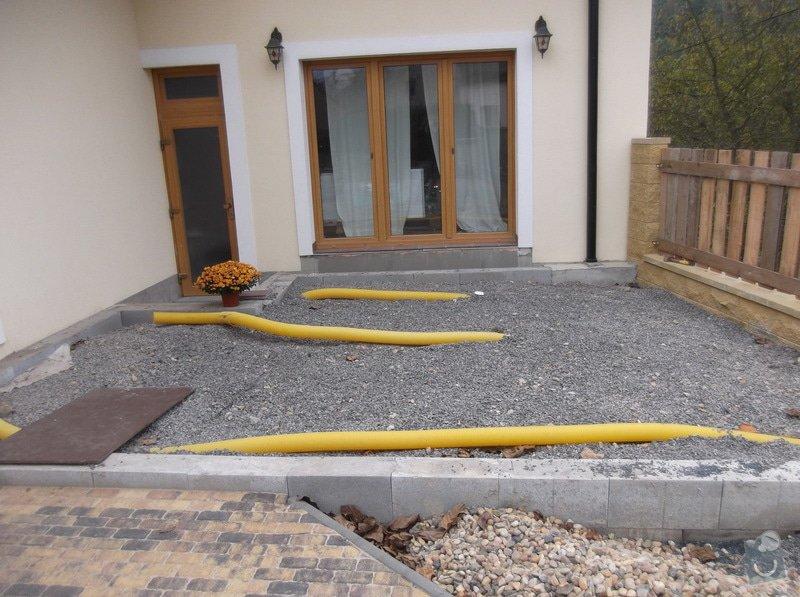 Realizace dřevěné venkovní terasy: 009