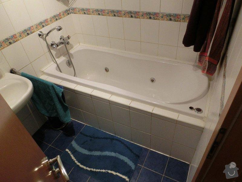 Výměna vany - koupelna: vana