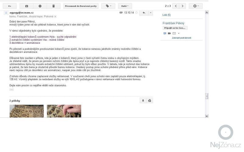 Mokré čištění koberců : OBR5-zneni_reklamace