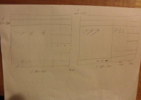Výroba skříní - šatní + knihovna