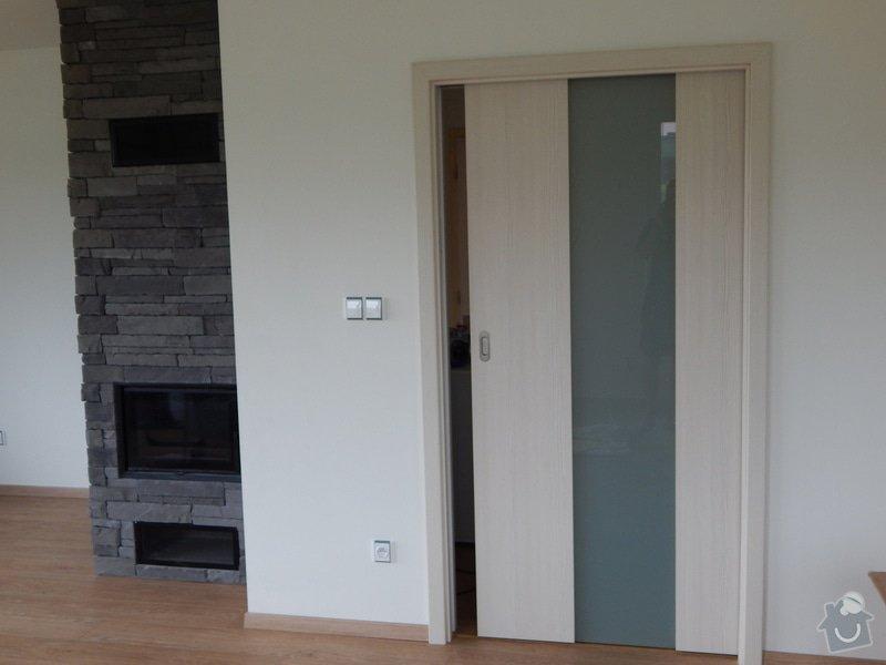 Dodávka a montáž vnitřních dveří a obložkových zárubní-RD Háje : DSCN7539
